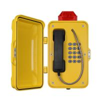 Wholesale Water Resistant Heavy Duty Analog Phone Weatherproof With Flashing Lamp from china suppliers