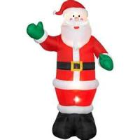 Wholesale Outdoor christmas inflatable santa claus decorations customized 420D PVC coated nylon from china suppliers