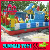 Wholesale PG-197 Popuplar Custom Inflatable Shark Slide Inflatable Bouncer from china suppliers