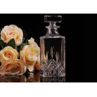 Wholesale Hand Made Colored Glass Wine Bottles With Corks , Luxury Wine Bottle from china suppliers