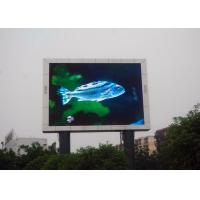 Wholesale P10 Outdoor LED Advertising Billboards , LED Video Display Panels High Resolution from china suppliers
