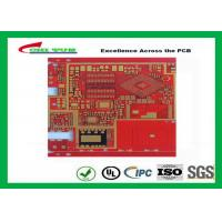 Wholesale Multilayer Pcb Manufacturing Impandence Control Circuit Board Pcb Layout Red Colour from china suppliers