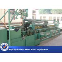 Wholesale High Speed Fully Automatic Chain Link Fence Machine For Playground Fence from china suppliers