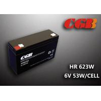 Wholesale HR653W 6V 13AH Valve Regulated Lead Acid Battery Maintenance Free For Alarm System from china suppliers