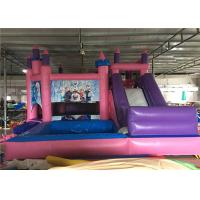 Wholesale 4 In 1 Inflatable Jumping Castle , Inflatable Jump House With Slide / Water Pool from china suppliers