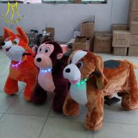 Hansel best seller kids amusement animal toy horse scooter with sound Guangzhou