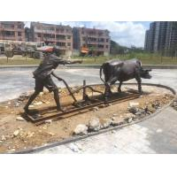 Wholesale Cattle Animal Sculpture Artists Outdoor Garden Decoration Or Lawn Decorations from china suppliers