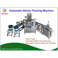 Auto Rotary Blister Packing Machine , Blister Thermoforming Machine For Air Refresher