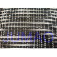 Quality Black And Silver Color Metal Glass Laminated Mesh Fabric For Art Glasses for sale
