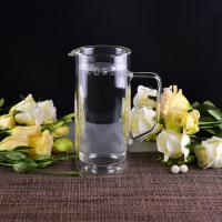 Wholesale 990Ml Borosilicate Double Wall Glass Tableware Clear Glass Jug For Water from china suppliers