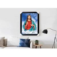 Wholesale Jesus Design God 3D Lenticular Flip Effect With CMYK Printing Size 30*40cm from china suppliers