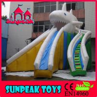 Buy cheap WL-1835 Commercial Inflatable Shark Water Slide,Sea Animal Jumbo Water Slide For from wholesalers