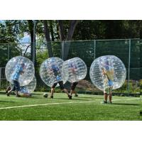 China 1.5m TPU Human Inflatable Bumper Bubble Ball For Adult With Logo Printing And Blower on sale