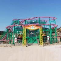 Wholesale Spinning Coaster Ride 320m Track Rated Load 20 Riders Customized Service from china suppliers