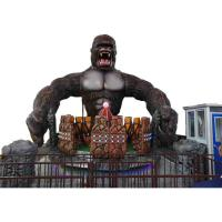 Wholesale Funny Amusement Park Thrill Rides / King Kong Ride With FRP Decoration from china suppliers
