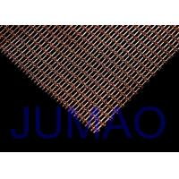 Wholesale Interior Woven Wire Architectural Metal Fabric Sun Protection For Railing from china suppliers
