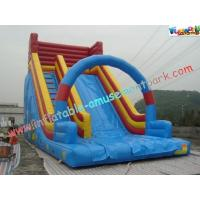 Wholesale 9M PVC Tarpaulin Commercial Inflatable Slide , Inflatable Bouncer Slides Games from china suppliers