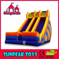 Wholesale SL-309 Adult size Playground Giant Inflatable Slide from china suppliers