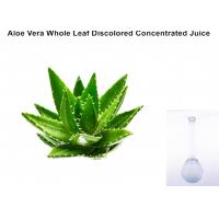 Wholesale Off - White Ropy Liquid  Aloe Vera Extract Powder Whole Leaf Discolored Concentrated Juice from china suppliers