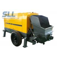 Wholesale Large Capacity Mobile Cement Mortar Pump Long Service Life 12 Months Warranty from china suppliers