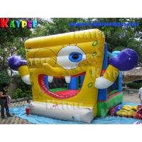 Wholesale Inflatable sponge bob combo bouncy castsle Inflatable Bouncer Castle KBO133 from china suppliers