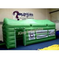 China Small Green PVC Inflatable Event Tent  / Exhibition Inflatable Cube Tent on sale