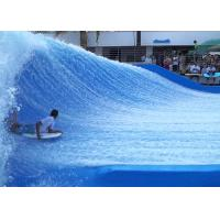Wholesale Customized Fiberglass Flowrider Surf Simulator Machine Outdoor Amusement from china suppliers