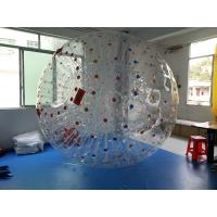 Wholesale Grass 0.8mm PVC Inflatable Human Sized Hamster Ball For Playground from china suppliers