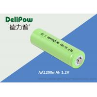 Wholesale 1200mAh 1.2V AA NIMH Rechargeable Battery With SGS / MSDS Certification from china suppliers