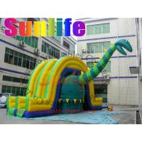Wholesale hot sell inflatable Dinosaur jumper slide combo from china suppliers