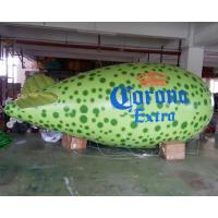 Wholesale New Green PVC Inflatable Balloon/ Blimp For Advertisement from china suppliers