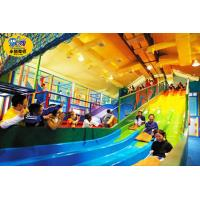 Wholesale Long Fiberglass Kids Playground Slide Equipment For Preschoolers from china suppliers