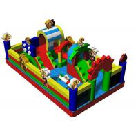 Buy cheap Customized Boonie Bears Inflatable Jumping Castle Water Proof Fire Retardant from wholesalers