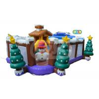 China Small Funny Indoor Kid Inflatable Jumping Castle Christmas Inflatable Playground on sale