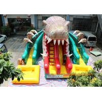 Wholesale Dinosaur Water Park Commercial Inflatable Slide With Pool 6 * 4.5 * 5m from china suppliers