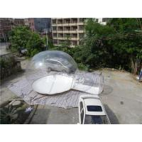 Wholesale 5.5m Diameter PVC Crystal Inflatable Lawn Tent For Exhibitions from china suppliers