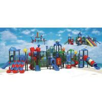 Wholesale Cute Appearance Water Playground Equipment Water Plastic Slide Combination from china suppliers