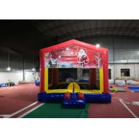 Wholesale PVC 0.55mm Adult Size Bounce House Customized Color For Amusement Park from china suppliers