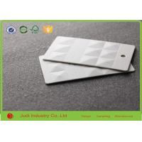 Buy cheap Embossing Custom Printed Hang Tags 300Gsm 26 X 30 Mm Matt Lamination For Germent from wholesalers