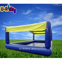 Buy cheap Outdoor Inflatable Swimming Pools Blue Color / Custom Square Inflatable Pool from wholesalers