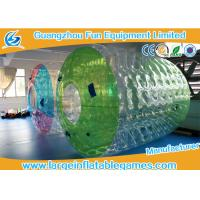 Wholesale Water Roller Inflatable Wheel Ball , Inflatable Hamster Wheel for Humans from china suppliers