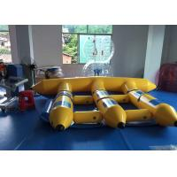 Wholesale Colored Inflatable Flying Fish Water Sports Banana Boat FireRetardant from china suppliers