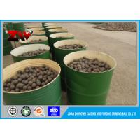 Mineral Processing B2 grinding steel balls media forged for ball mill ISO 9001-2008