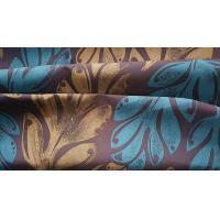 Buy cheap Microfiber Beachwear Fabric Paper Printed Polyester Satin W/R Finish 150GSM from wholesalers