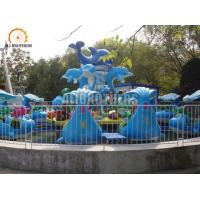 Wholesale Kids Rides Fun Fair Water Park Outdoor Playground Shark Fighting Battling Island from china suppliers