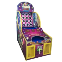 Wholesale Ball Shooting Pitching Circles 16 Coin Operated Game Machine from china suppliers