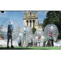 Wholesale TPU Inflatable Bubble Ball Soccer , Human Sized Loopy Inflatable Bumper Ball from china suppliers