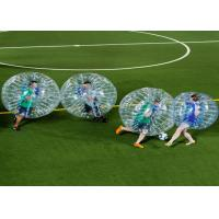 China Outdoor Play Equipment Zorb Ball Football Inflatable Human Bubble Ball Soccer on sale