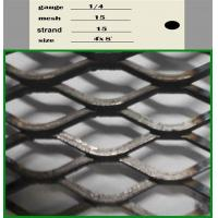 Wholesale Aluminium Expanded Wire Mesh , Decorative Expanded Metal Mesh 0.3mm-8mm Thickness from china suppliers