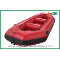 Wholesale Durable Adults PVC Rigid Inflatable Boats 3 - 8 Persons Water Park Entertainment from china suppliers
